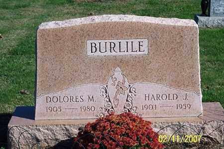 BURLILE, HOWARD J. - Ross County, Ohio | HOWARD J. BURLILE - Ohio Gravestone Photos