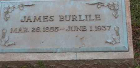 BURLILE, JAMES - Ross County, Ohio   JAMES BURLILE - Ohio Gravestone Photos