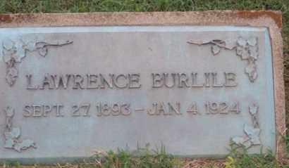 BURLILE, LAWRENCE - Ross County, Ohio | LAWRENCE BURLILE - Ohio Gravestone Photos