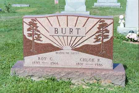 MURRAY BURT, CHLOE R - Ross County, Ohio | CHLOE R MURRAY BURT - Ohio Gravestone Photos