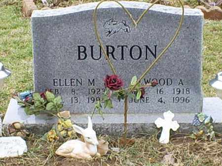 BURTON, ELLEN M. - Ross County, Ohio   ELLEN M. BURTON - Ohio Gravestone Photos