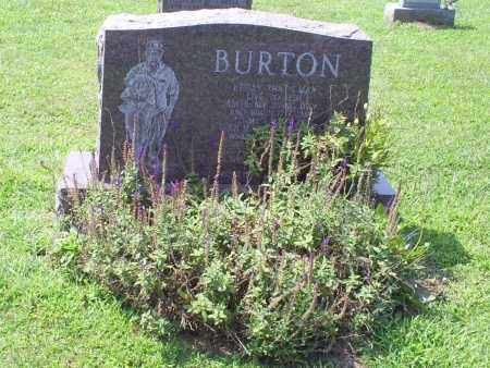 BURTON, WILLIAM - Ross County, Ohio | WILLIAM BURTON - Ohio Gravestone Photos