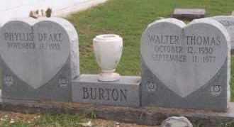 BURTON, WALTER THOMAS - Ross County, Ohio | WALTER THOMAS BURTON - Ohio Gravestone Photos