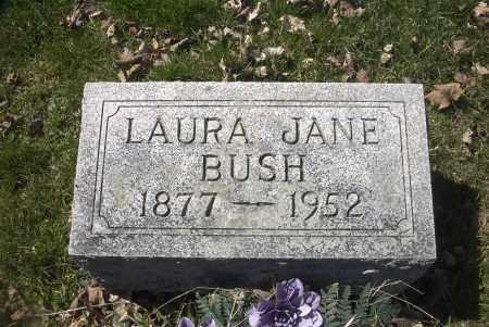 BUSH, LAURA JANE - Ross County, Ohio   LAURA JANE BUSH - Ohio Gravestone Photos