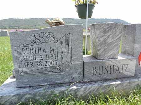 BUSHATZ, BERTHA M - Ross County, Ohio   BERTHA M BUSHATZ - Ohio Gravestone Photos
