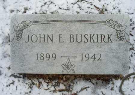 BUSKIRK, JOHN E. - Ross County, Ohio   JOHN E. BUSKIRK - Ohio Gravestone Photos