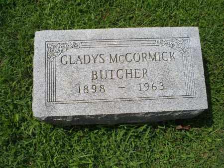 MCCORMICK BUTCHER, GLADYS - Ross County, Ohio | GLADYS MCCORMICK BUTCHER - Ohio Gravestone Photos