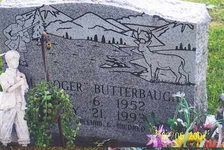 BUTTERBAUGH, WM. ROGER - Ross County, Ohio | WM. ROGER BUTTERBAUGH - Ohio Gravestone Photos