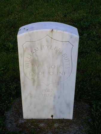 BUTTS, WILLIAM TYLER - Ross County, Ohio | WILLIAM TYLER BUTTS - Ohio Gravestone Photos