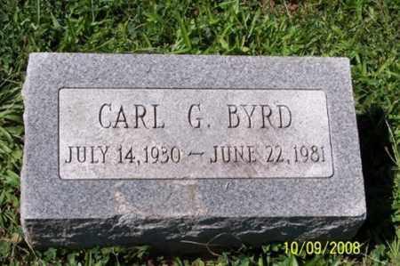 BYRD, CARL G. - Ross County, Ohio | CARL G. BYRD - Ohio Gravestone Photos