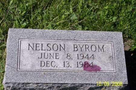 BYROM, NELSON - Ross County, Ohio | NELSON BYROM - Ohio Gravestone Photos
