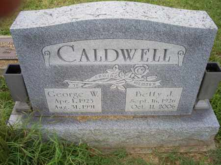 CALDWELL, BETTY J. - Ross County, Ohio | BETTY J. CALDWELL - Ohio Gravestone Photos