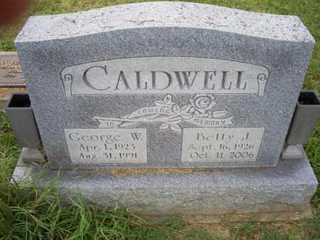 CALDWELL, GEORGE W. - Ross County, Ohio | GEORGE W. CALDWELL - Ohio Gravestone Photos