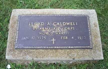 CALDWELL, LLOYD A. - Ross County, Ohio   LLOYD A. CALDWELL - Ohio Gravestone Photos
