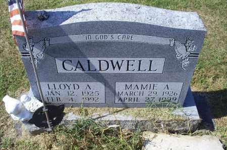 CALDWELL, LLOYD A. - Ross County, Ohio | LLOYD A. CALDWELL - Ohio Gravestone Photos
