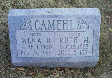 CAMEHL, MENA D. - Ross County, Ohio   MENA D. CAMEHL - Ohio Gravestone Photos