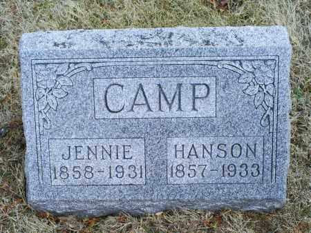 CAMP, HANSON - Ross County, Ohio   HANSON CAMP - Ohio Gravestone Photos