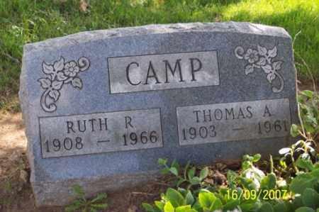 CAMP, THOMAS A. - Ross County, Ohio | THOMAS A. CAMP - Ohio Gravestone Photos