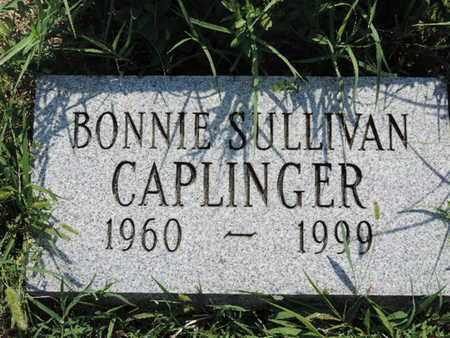 SULLIVAN CAPLINGER, BONNIE - Ross County, Ohio | BONNIE SULLIVAN CAPLINGER - Ohio Gravestone Photos