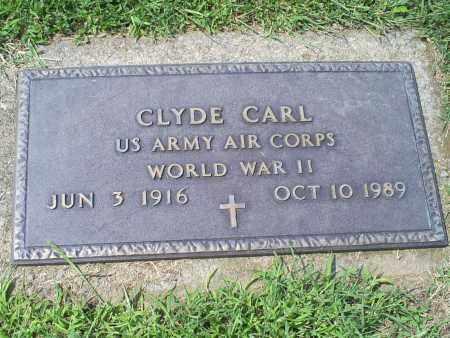 CARL, CLYDE - Ross County, Ohio | CLYDE CARL - Ohio Gravestone Photos