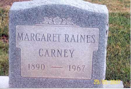 RAINES CARNEY, MARGARET - Ross County, Ohio | MARGARET RAINES CARNEY - Ohio Gravestone Photos