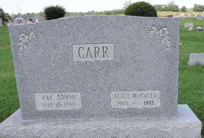 CARR, RAY EDWIN - Ross County, Ohio | RAY EDWIN CARR - Ohio Gravestone Photos