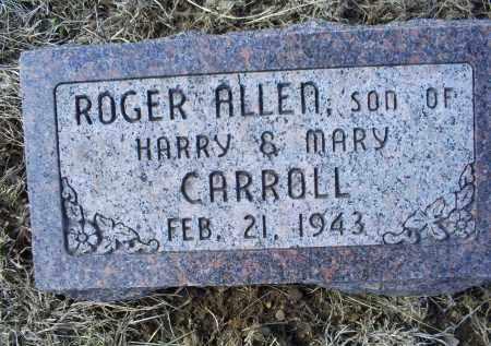 CARROLL, ROGER ALLEN - Ross County, Ohio | ROGER ALLEN CARROLL - Ohio Gravestone Photos