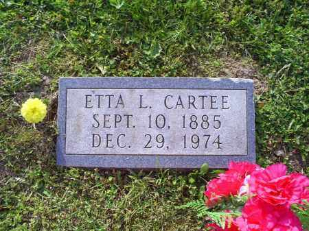 CARTEE, ETTA L. - Ross County, Ohio   ETTA L. CARTEE - Ohio Gravestone Photos