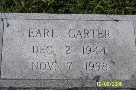 CARTER, EARL - Ross County, Ohio   EARL CARTER - Ohio Gravestone Photos