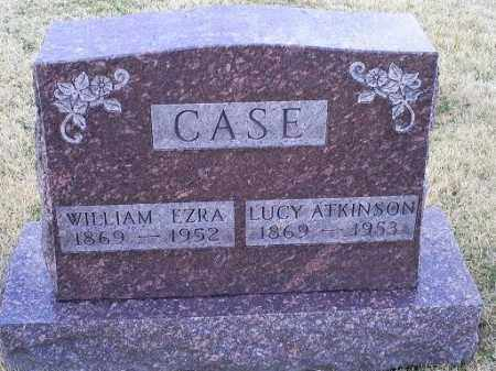 CASE, WILLIAM EZRA - Ross County, Ohio | WILLIAM EZRA CASE - Ohio Gravestone Photos