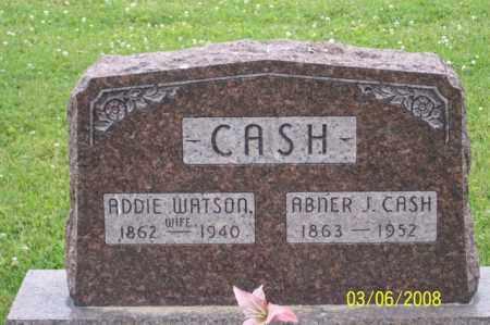 CASH, ABNER J. - Ross County, Ohio | ABNER J. CASH - Ohio Gravestone Photos