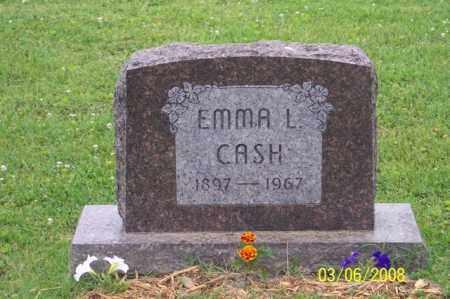 CASH, EMMA L. - Ross County, Ohio | EMMA L. CASH - Ohio Gravestone Photos