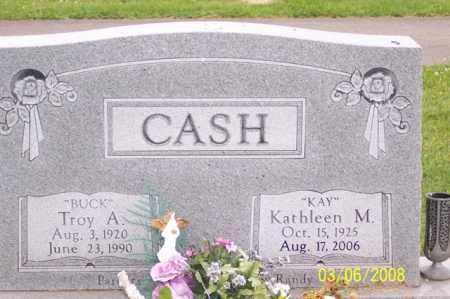 "CASH, TROY A.  ""BUCK"" - Ross County, Ohio   TROY A.  ""BUCK"" CASH - Ohio Gravestone Photos"