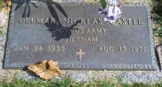 CASTLE, DELMAR NICKLAS - Ross County, Ohio | DELMAR NICKLAS CASTLE - Ohio Gravestone Photos
