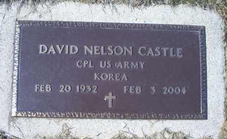 CASTLE, DAVID NELSON - Ross County, Ohio   DAVID NELSON CASTLE - Ohio Gravestone Photos