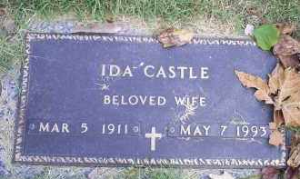 CASTLE, IDA - Ross County, Ohio | IDA CASTLE - Ohio Gravestone Photos