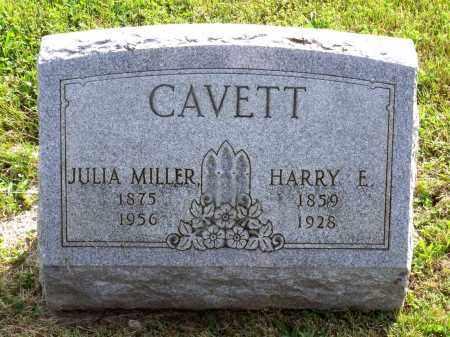 CAVETT, JULIA OPHELIA - Ross County, Ohio | JULIA OPHELIA CAVETT - Ohio Gravestone Photos