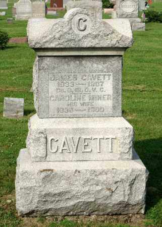 MINER CAVETT, CAROLINE - Ross County, Ohio | CAROLINE MINER CAVETT - Ohio Gravestone Photos
