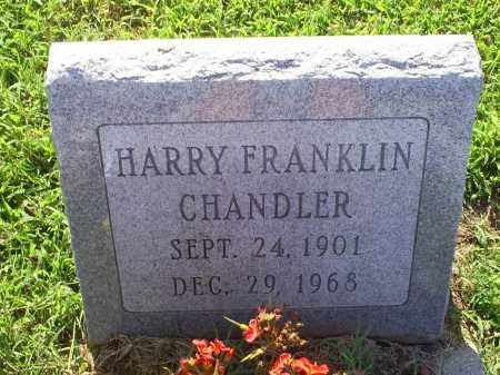 CHANDLER, HARRY FRANKLINE - Ross County, Ohio   HARRY FRANKLINE CHANDLER - Ohio Gravestone Photos