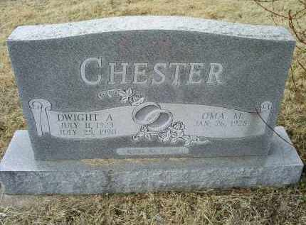 CHESTER, DWIGHT A. - Ross County, Ohio   DWIGHT A. CHESTER - Ohio Gravestone Photos