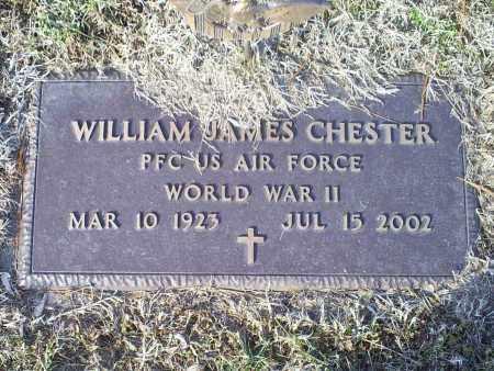 CHESTER, WILLIAM JAMES - Ross County, Ohio   WILLIAM JAMES CHESTER - Ohio Gravestone Photos