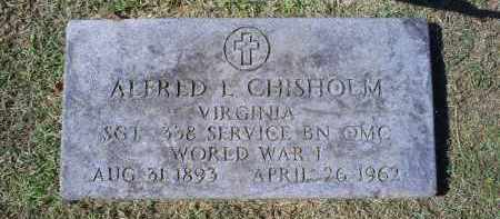 CHISHOLM, ALFRED L. - Ross County, Ohio | ALFRED L. CHISHOLM - Ohio Gravestone Photos