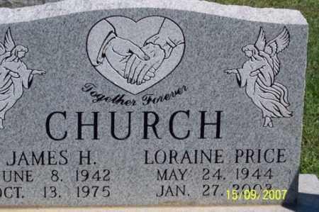 CHURCH, JAMES H. - Ross County, Ohio | JAMES H. CHURCH - Ohio Gravestone Photos