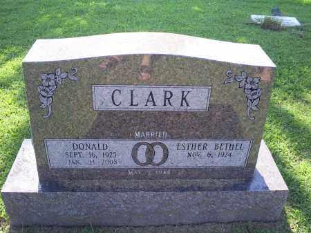 CLARK, DONALD - Ross County, Ohio   DONALD CLARK - Ohio Gravestone Photos