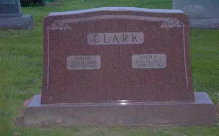 CLARK, FRED E. - Ross County, Ohio | FRED E. CLARK - Ohio Gravestone Photos