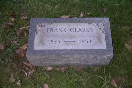 CLARKE, FRANK - Ross County, Ohio | FRANK CLARKE - Ohio Gravestone Photos