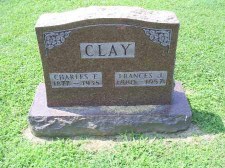 CLAY, FRANCES I, - Ross County, Ohio | FRANCES I, CLAY - Ohio Gravestone Photos