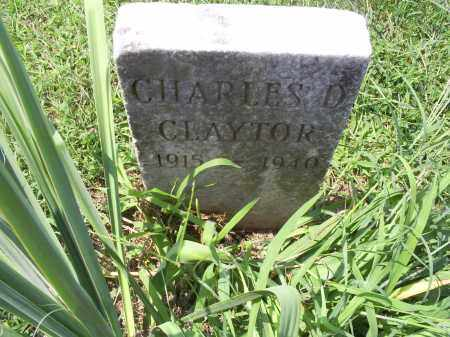 CLAYTOR, CHARLES D. - Ross County, Ohio | CHARLES D. CLAYTOR - Ohio Gravestone Photos