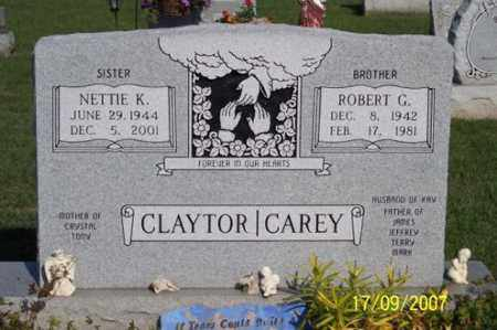 CLAYTOR, NETTIE K. - Ross County, Ohio | NETTIE K. CLAYTOR - Ohio Gravestone Photos
