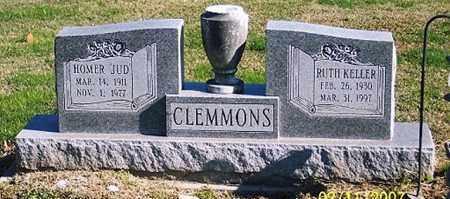 "CLEMMONS, HOMER ""JUD"" - Ross County, Ohio | HOMER ""JUD"" CLEMMONS - Ohio Gravestone Photos"
